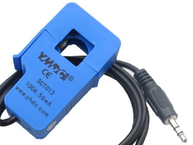 0-100A/AC árammérő szenzor (áramváltó)