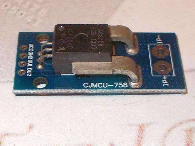 0-100A AC/DC precíziós árammérő szenzor