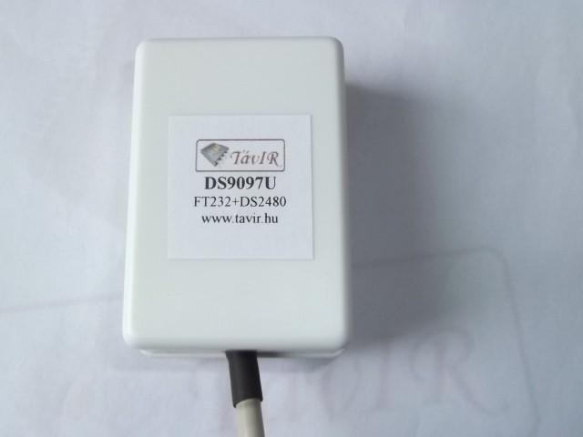 DS9097 (USB-1wire illesztő)