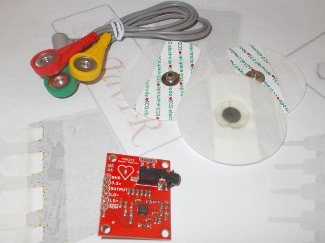 EKG szenzor (AD8232)