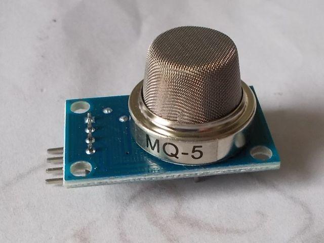 MQ-5 gáz szenzor modul (földgáz, LPG, füst)
