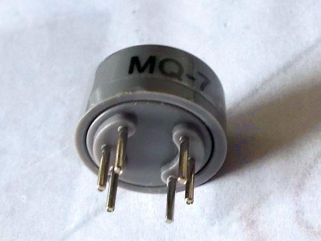 MQ-7 szenzor (szén-monoxid, füstgáz)
