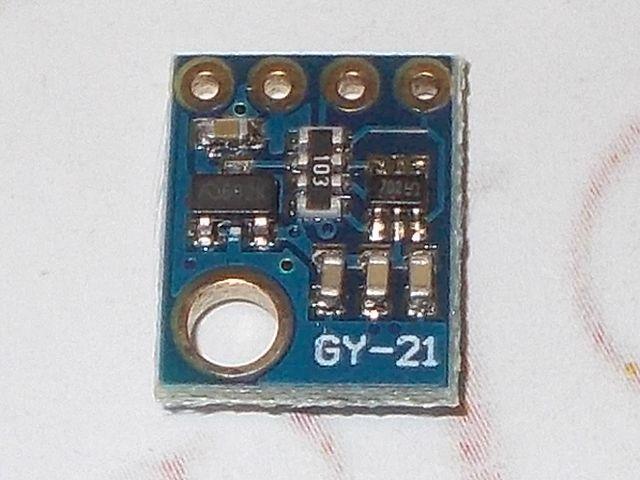 GY-21 pára- és hőmérséklet-szenzor (HTU21D)