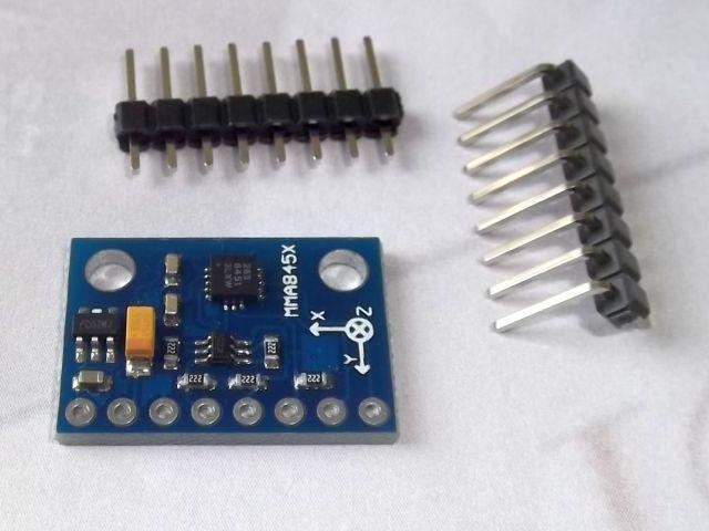 GY-45 (MMA8451) gyorsulásmérő szenzor