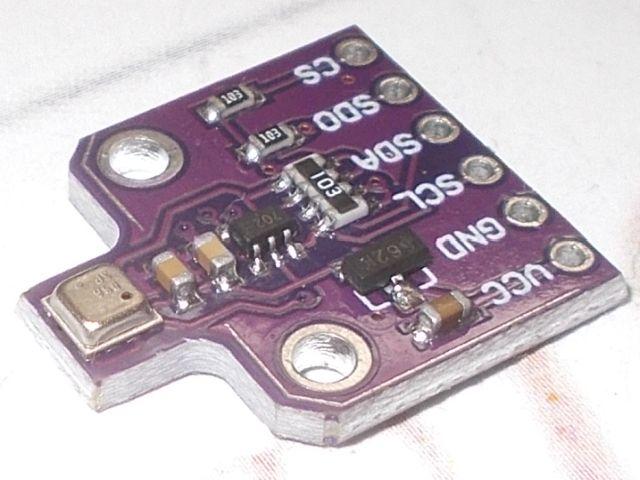 BME680 (nyomás, pára, hőfok, légminőség) kombinált szenzor