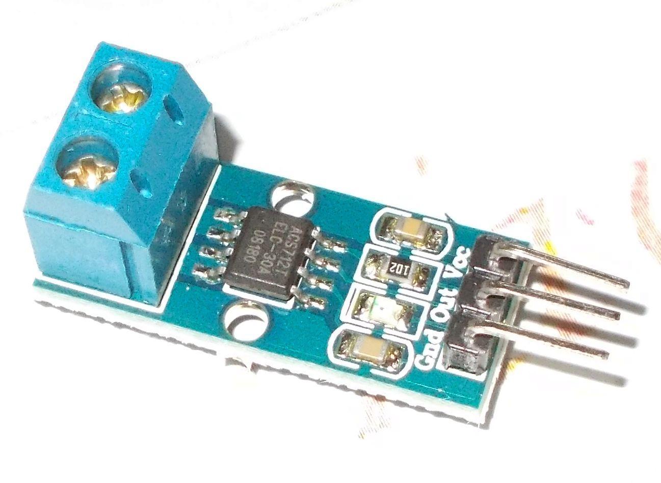 0-30A AC/DC precíziós árammérő szenzor
