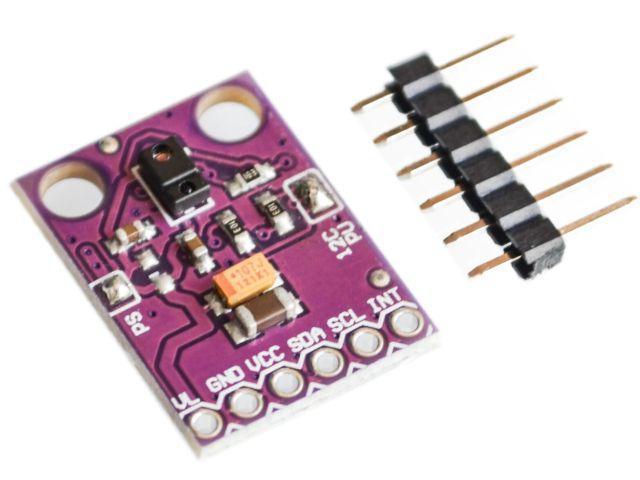 GY-9960-33 (APDS-9960; 3.3V) fényerő, RGB, távolság, gesztus szenzor