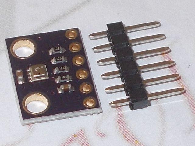 GY-BME280-3.3 (nyomás, pára és hőfok) kombinált szenzor [3.3V]