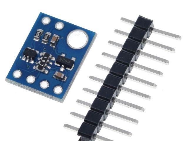 LIDAR távolságszenzor (lézeres, precíziós távmérő; VL53L0X)