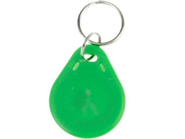 S50/Mifare (1k) zöld RFID kulcstartó