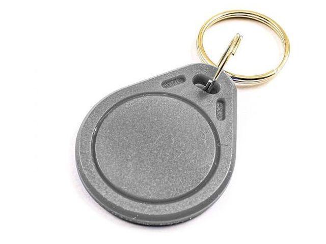 S50/Mifare (1k) szürke RFID kulcstartó