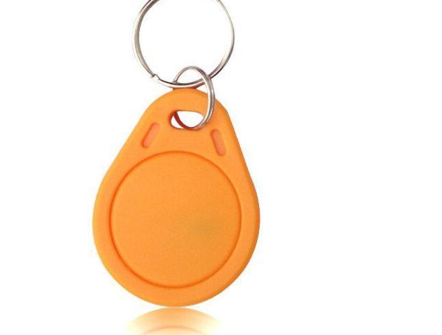 S50/Mifare (1k) narancs RFID kulcstartó
