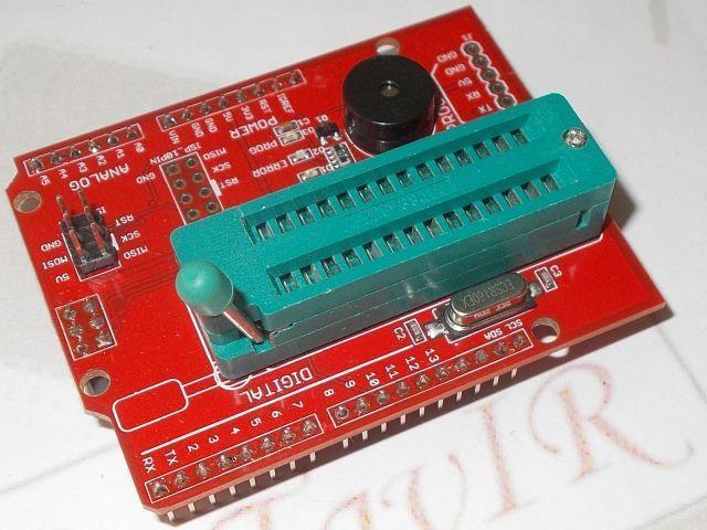 AVRISP shield (Programozó shield)