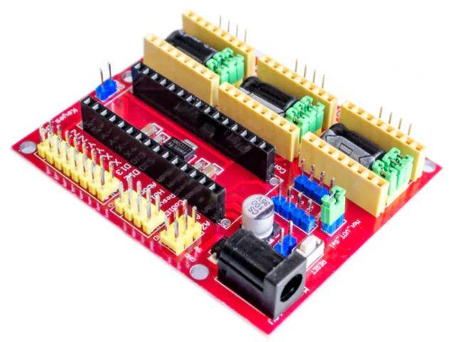 CNC 4.0 (GRBL vezérelt) alappanel (Nanohoz)