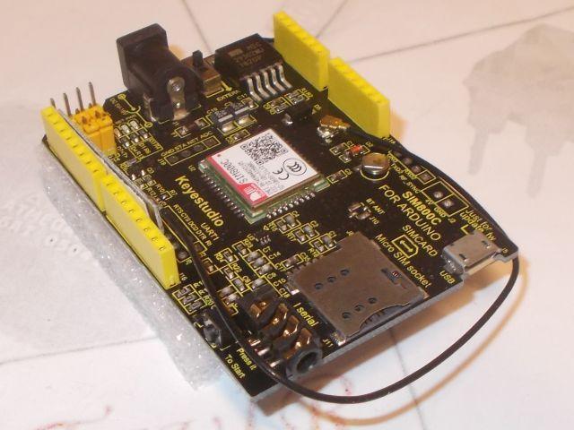 GPRS/GSM shield (SIM800C, Keyes)