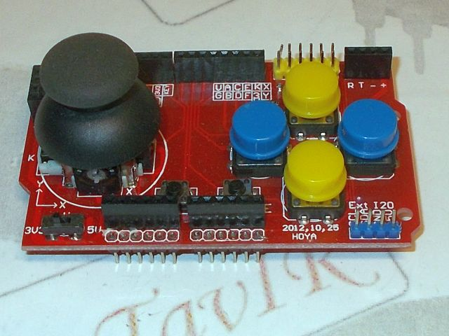 Joystick-button shield