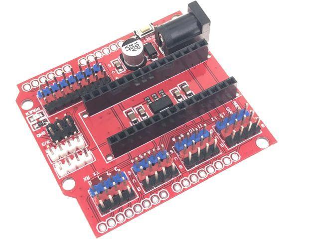 Arduino Nano - szenzor shield