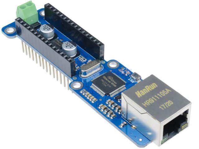Ethernet Wiznet shield (Nano, W5100 chip, LAN)